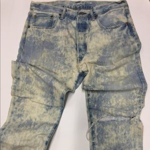 Levi Customized and Tampered 501 Jeans